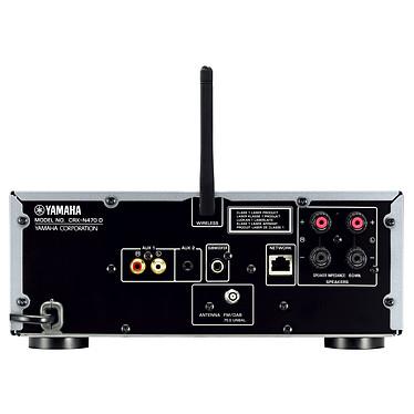 Avis Yamaha MusicCast CRX-N470D Noir + Cabasse Antigua MT22 Noyer