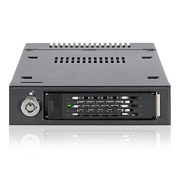 """ICY DOCK ToughArmor MB601VK-1B Rack Amovible 2.5"""" U.2 NVMe SSD pour baie de disque externe 3.5"""""""