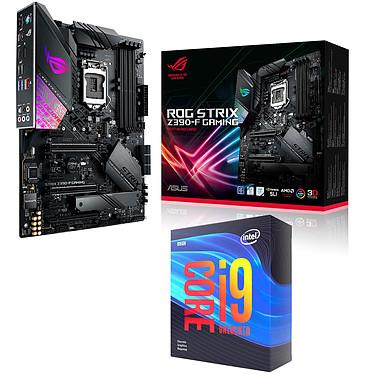 Kit Upgrade PC Core i9KF ROG STRIX Z390-F GAMING Carte mère Socket 1151 Intel Z390 Express + CPU Intel Core i9-9900KF (3.6 GHz / 5 GHz)