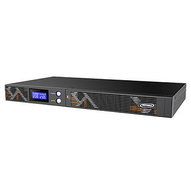 Infosec E3 Live 500 RM SAI de alta frecuencia 500 VA con 4 tomas IEC 10A