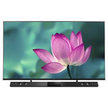 "TCL 55X815 Téléviseur QLED 4K Ultra HD 55"" (140 cm) 16/9 - 3840 x 2160 pixels - HDR10+/Dolby Vision - Wi-Fi/Bluetooth - Android TV - Google Assistant - 2600 Hz - Son 2.1 26W Dolby Atmos Onkyo"
