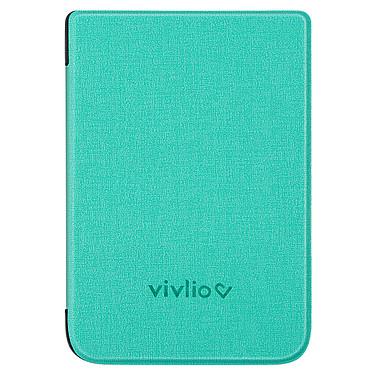 Vivlio Housse TL4/HD+ Chinée Verte Housse de protection pour liseuses Touch Lux 4 et Touch HD Plus