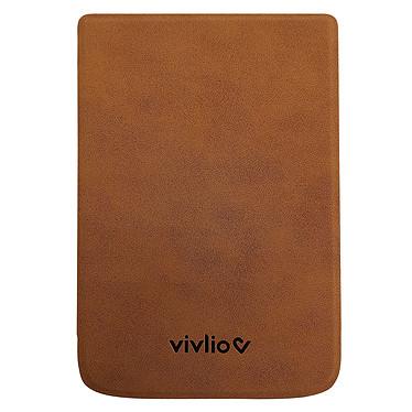 Vivlio Housse TL4/HD+ Marron Housse de protection pour liseuses Touch Lux 4 et Touch HD Plus