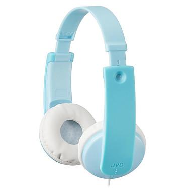 JVC HA-KD7 Bleu Casque supra-auriculaire pour enfant avec limiteur de volume