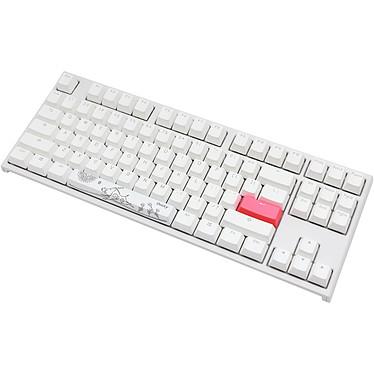 Avis Ducky Channel One 2 TKL RGB Blanc (Cherry MX RGB Silent Red)