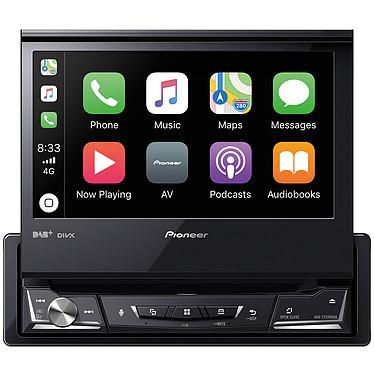 "Pioneer AVH-Z7200DAB Lecteur multimédia 1-DIN - CD/DVD/FM/DAB+/USB - 4 x 50 Watts - Ecran tactile 7"" rabattable - Bluetooth 4.1 - Apple CarPlay / Android Auto / Waze"