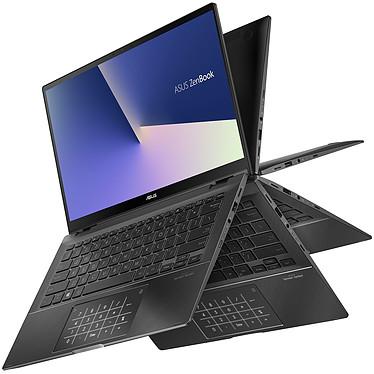 "ASUS Zenbook Flip 14 UX463FA-AI032R avec NumberPad Intel Core i7-10510U 16 Go SSD 512 Go 14"" LED Full HD Tactile Wi-Fi AX/Bluetooth Webcam Windows 10 Professionnel 64 bits"