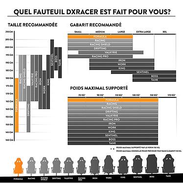 DXRacer Formula F11 (noir) pas cher