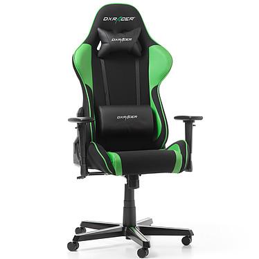 DXRacer Formula F11 (vert) Siège en tissu avec dossier inclinable à 135° et accoudoirs 3D pour gamer (jusqu'à 100 kg)