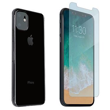 Muvit Verre Trempé Écran + Caméra pour iPhone 11 Protection en verre trempé pour écran et caméra arrière pour Apple iPhone 11