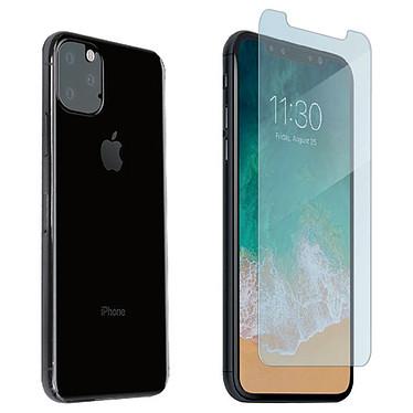 Muvit Verre Trempé Écran + Caméra pour iPhone 11 Pro Protection en verre trempé pour écran et caméra arrière pour Apple iPhone 11 Pro