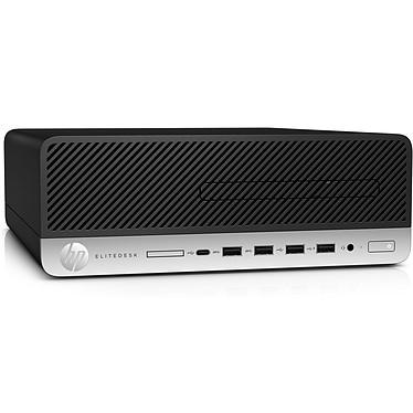 HP EliteDesk 705 G4 (4HN44EA) AMD Ryzen 5 PRO 2400G 8 Go SSD 256 Go Graveur DVD Windows 10 Professionnel 64 bits (sans écran)