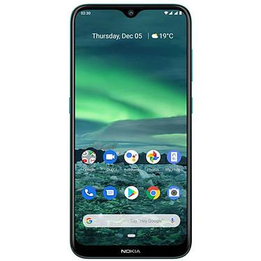 "Nokia 2.3 Vert Smartphone 4G-LTE Dual SIM - Helio A22 Quad-core 2.0 GHz - RAM 2 Go - Ecran tactile 6.3"" 720 x 1520 - 32 Go - Bluetooth 5.0 - 4000 mAh - Android 9.0"