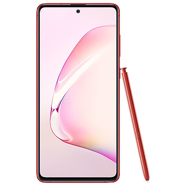 "Samsung Galaxy Note 10 Lite SM-N770 Rojo (6GB / 128GB) Smartphone 4G-LTE Advanced IP68 Dual SIM - Exynos 9810 8-Core 2.7 Ghz - RAM 6 GB - Pantalla táctil 6.7"" 1080 x 2400 - 128 GB - NFC/Bluetooth 5.0 - 4500 mAh - Android 10"