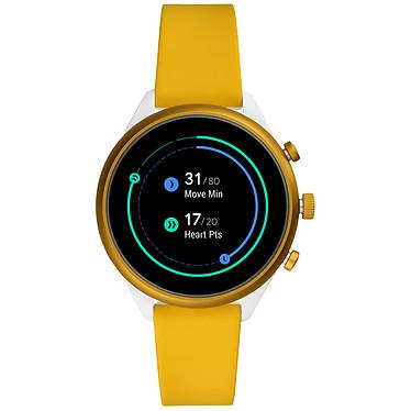 Fossil Sport 41 Smartwatch (41 mm / Silicone / Jaune)