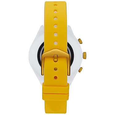 Fossil Sport 41 Smartwatch (41 mm / Silicone / Jaune) pas cher