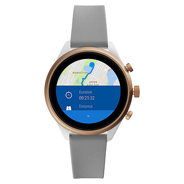 Opiniones sobre Fossil Sport 41 Smartwatch (41 mm / Silicona / Gris)