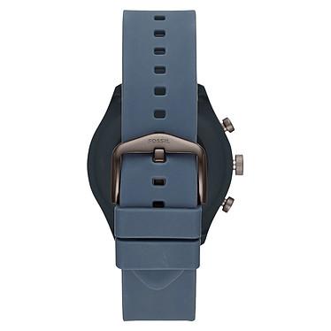 Fossil Sport 43 Smartwatch (43 mm / Silicone / Bleu Fumé) pas cher