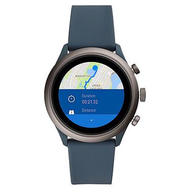 Avis Fossil Sport 43 Smartwatch (43 mm / Silicone / Bleu Fumé)