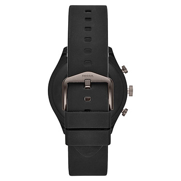 Fossil Sport 43 Smartwatch (43 mm / Silicone / Noir) pas cher