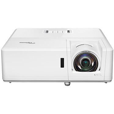Optoma ZH406ST Vidéoprojecteur laser DLP Full HD 3D Ready IP6X - 4200 Lumens - Focale courte - HDMI/VGA/USB/Ethernet - Haut-parleurs intégrés