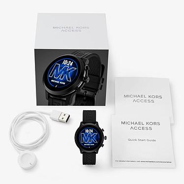 Michael Kors Access MKGO (43 mm / Silicona / Negro) a bajo precio