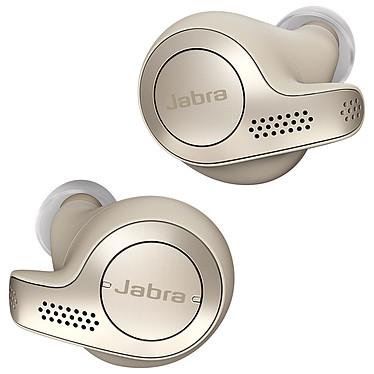 Jabra Elite 65t Or/Beige Écouteurs intra-auriculaires sans fil True Wireless Bluetooth 5.0 avec 4 microphones certifiés IP55