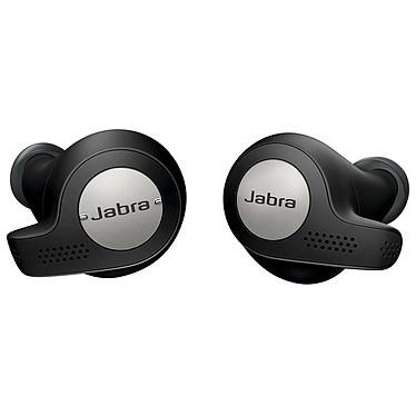 Jabra Active Elite 65t Titanium Black Écouteurs intra-auriculaires sans fil sportifs Bluetooth 5.0 avec 4 microphones certifiés IP56