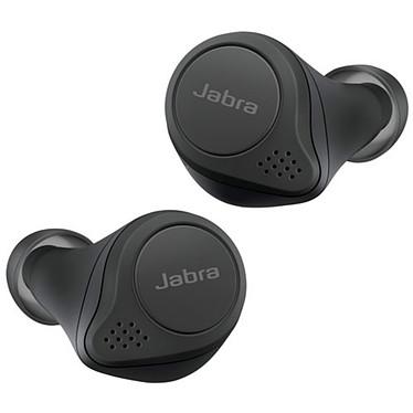 Jabra Elite 75t Noir Écouteurs intra-auriculaires True Wireless - Bluetooth 5.0 - 4 microphones - Autonomie 7h30 - IP55 - Boîtier charge/transport