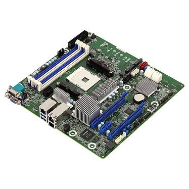ASRock Rack X470D4U2-2T Carte mère Micro ATX Socket AM4 AMD X470 - 4x DDR4 - SATA 6Gb/s + M.2 - USB 3.0 - 1x PCI-Express 3.0 16x