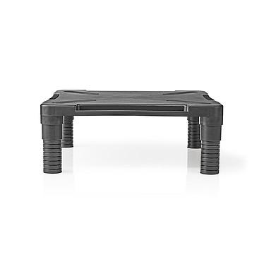 Nedis Ergonomic Monitor Stand Support pour moniteur ergonomique avec pieds régables - 18 kg maximum