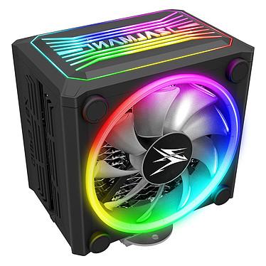 Zalman CNPS16X Black Ventilateur pour processeur pour socket Intel et AMD avec rétroéclairage ARGB
