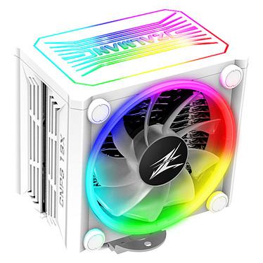 Zalman CNPS16X White Ventilateur pour processeur pour socket Intel et AMD avec rétroéclairage ARGB