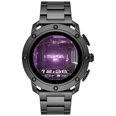 Diesel On Axial Gen.5 (48 mm / Acier / Gris) Montre connectée - Étanche 30 m - GPS - Cardiofréquencemètre - Écran AMOLED - Bluetooth 4.2/NFC - Wear OS - Boitier de 48 mm - Bracelet acier