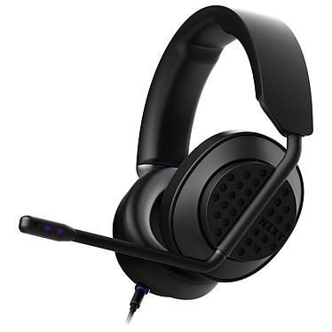 NZXT AER Open Headset Noir Casque gaming filaire - Circum-aural ouvert - Hi-Res Audio - Micro amovible certifié Discord - Compatible PC / Xbox / PS4 / Switch