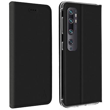 Akashi Estuche Folio Portatarjetas Negro Xiaomi Mi Note 10 y Mi Note 10 Pro