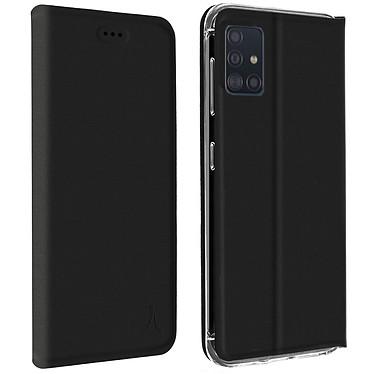 Akashi Estuche Folio Portatarjetas Negro Samsung Galaxy A71 Estuche de folio con tarjetero para Samsung Galaxy A71