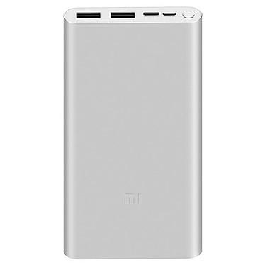 Xiaomi Mi Powerbank 3 Argent Batterie externe Lithium-Polymère 10 000 mAh - 18W - Charge rapide - 2 ports USB