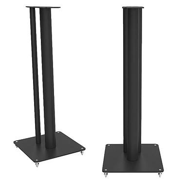 Q Acoustics Q 3000FSi Noir Pack de 2 pieds en acier pour enceintes Q3010i/Q3020i