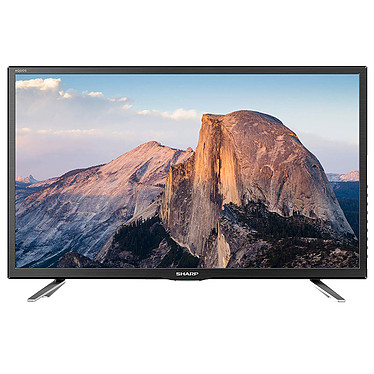 "Sharp LC-24CHG5112E Téléviseur LED HD 24"" (61 cm) - 1366 x 768 pixels - HDMI - USB - 100 Hz - Son 2.0 10W"