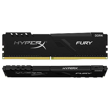 HyperX Fury 32 Go (2x 16 Go) DDR4 3733 MHz CL19 Kit Dual Channel 2 barrettes de RAM DDR4 PC4-30000 - HX437C19FB3K2/32