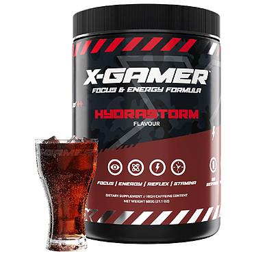 X-Gamer X-Tubz Hydrastorm Préparation énergétique pour gamer (600g / 60 shakers)
