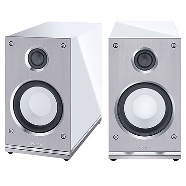 Magnat Quantum Edelstein Blanc Enceinte bibliothèque Bass-Reflex 75W (par paire)