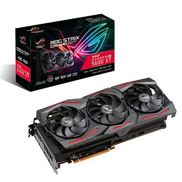 ASUS Radeon RX 5600 XT ROG-STRIX-RX5600XT-O6G-GAMING 6 Go GDDR6 - HDMI/Tri DisplayPort - PCI Express (AMD Radeon RX 5600 XT)
