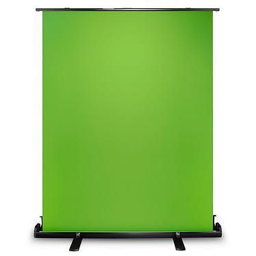 Oplite Supreme Green Screen Fond vert - 148 x 190 cm - rétractable - portable - support de déploiement intégré - idéal pour photo, vidéo, streaming, brodcasting...