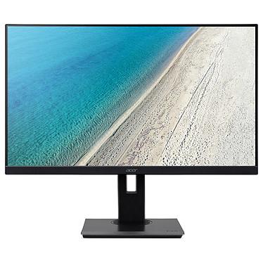 """Acer 27"""" LED - B277Ubmiipprzx 2560 x 1440 pixels - 4 ms (gris à gris) - Format large 16/9 - Dalle IPS - 75 Hz - HDMI/DisplayPort - Hub USB 3.0 - Noir"""