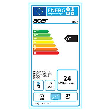 "Acer 27"" LED - B277Ubmiipprzx pas cher"