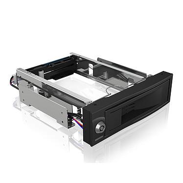 """ICY BOX IB-167SSK Rack móvil para disco duro 3""""1/2 Serial ATA/SAS (en bahía de 5""""1/4)"""