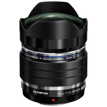 Olympus M.Zuiko Digital ED 8mm f/1.8 Fisheye PRO Objectif Fisheye ultra grand-angle 8mm à ouverture f/1.8 et conception tropicalisée (monture Micro 4/3)