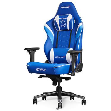AKRacing Master MAX (Fox Spirit Limited Edition) Siège en similicuir avec dossier réglable à 180° et accoudoirs 4D pour gamer (jusqu'à 180 kg) - édition limitée !